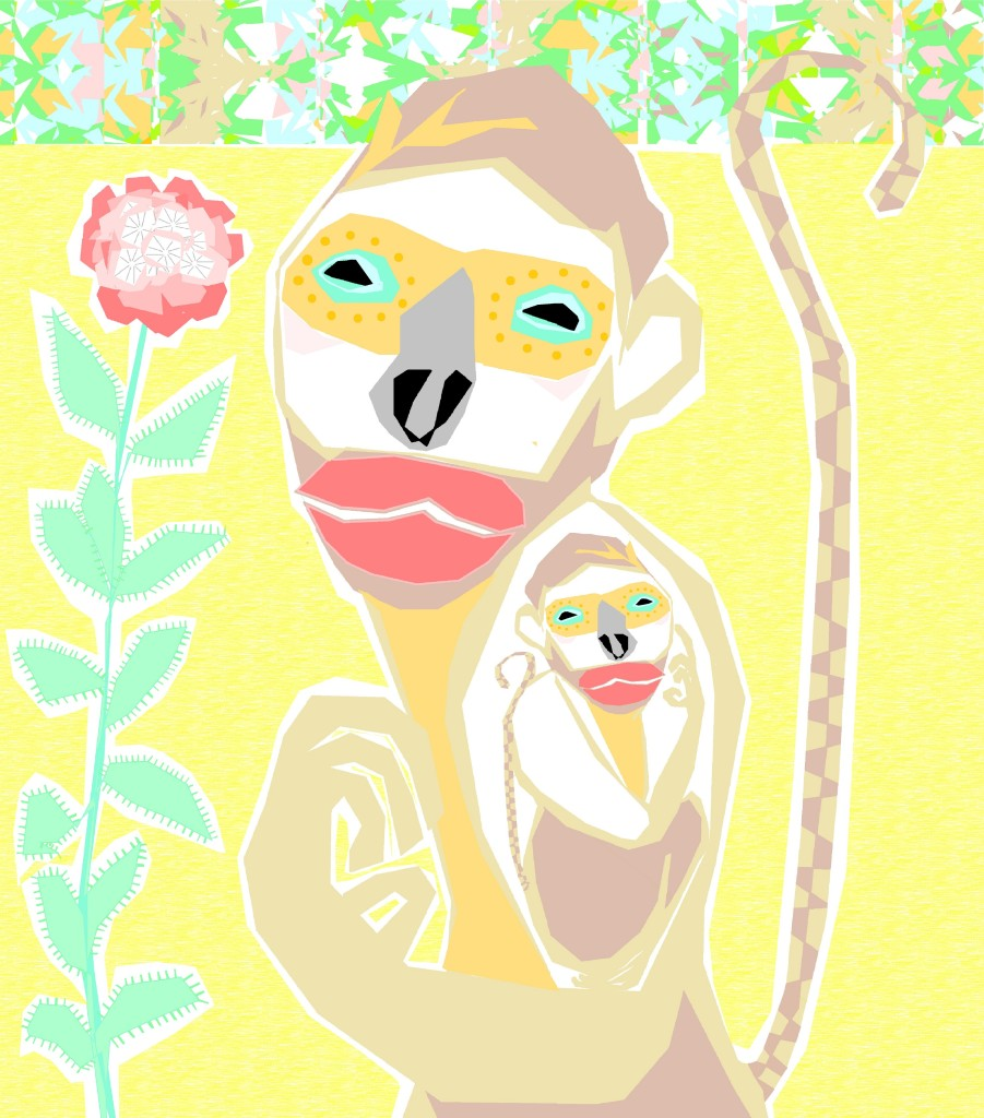 year of the monkey smaller